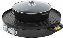 01 Hot Pot Grill, interrupteurs de contrôle de