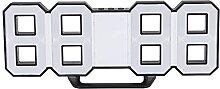01 Réveil, Horloge de Table à LED commutable