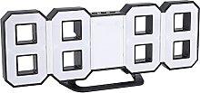 01 Réveil, Horloge de Table LED Solide et Durable