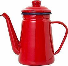 1.1L à haute teneur en émail Pot Café Verser