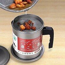 1.4L acier inoxydable filtre à huile Pot filtre