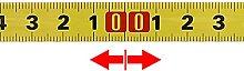 1-5M métrique scie piste ruban à mesurer 0.5 ``
