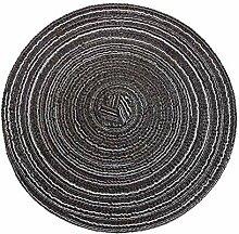 1 lot de sets de table ronds isolants solides en