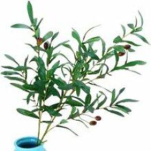 1-Pieces Faux Branche d'olivier   Plante
