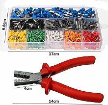 1 pièces Kit d'outils à sertir pince à