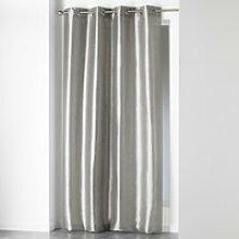 1 rideau à oeillets 140 x 240 cm schantung uni