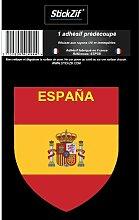 1 Sticker Espagne - STP7B