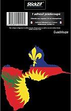 1 Sticker Guadeloupe STR971C
