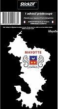1 Sticker Mayotte - STR976C