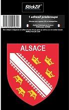 1 Sticker Region Alsace 1