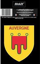 1 Sticker Region Auvergne 1