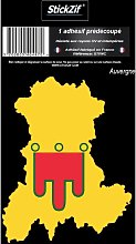 1 Sticker Region Auvergne 2