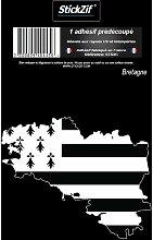 1 Sticker Region Bretagne 3