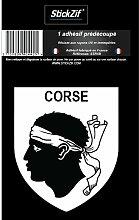 1 Sticker Region Corse - STR1B
