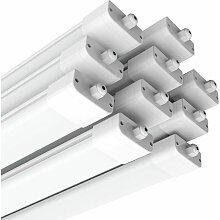 10× 120CM Tube LED 36W Plafonnier Néon Tube LED