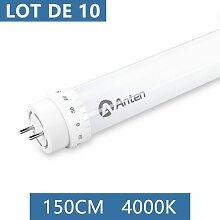 10× 150CM T8 Tube LED 24W G13 Néon LED Tube