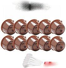 10/8/6/4/2 pcs/Emballé Recharge Réutilisable