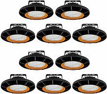 10×Anten 200W UFO Projecteur LED Dimmable