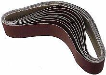 10 pièces 60/120/240 grains fournitures ceintures