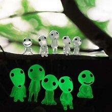10 pièces, fantôme lumineux pour arbre,