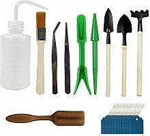 10 pièces outils à main de jardinage miniatures
