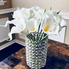 10 pièces PU fleurs artificielles Calla Lily