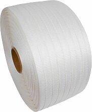 10 X (COLIS 1 BOBINE) Feuillard textile collé