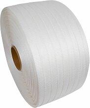 10 X (COLIS 5 BOBINES) Feuillard textile collé
