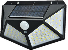 100 Led Lampes Solaires 1200 Mah, 3 Modes