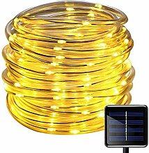 100LED Ruban Lumineux Solaire Lampes de