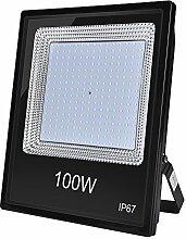 100w led projecteur, 10000lm, Blanc Chaud, Etanche