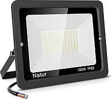100W Projecteur Exterieur LED, 10000LM Spot LED