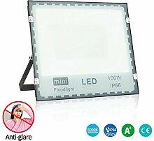 100W Projecteur LED Anti-éblouissant IP66 Spot