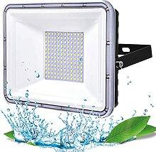 100W Projecteur LED Extérieur, YIQIBRO Eclairage