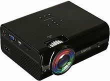 1080P LED HD Mini Vidéoprojecteur Noir/blanc,