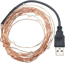 10m IP67 USB LED Guirlande Lumineuse Graine Beam
