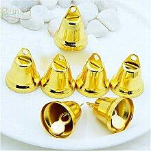 10pcs / Set Copper Gold Plated Bells Bijoux Bijoux