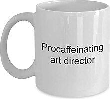 11OZ Art Director Mug Procaffeinating Art Director