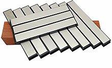 11pcs Set Diamond Stone Bar Couteau Soutupeneur