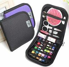 12 aiguilles Portable Mini voyage ménage boîte