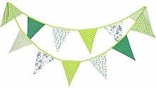 12 Drapeaux Multicolore Fanion bannière Triangle