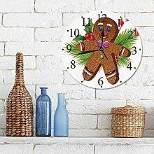 "12""Horloge Muette Pendule Murale de Mode Cadre"