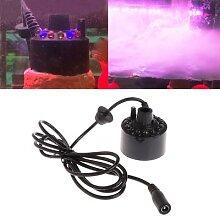 12 lumière LED brumisateur à ultrasons