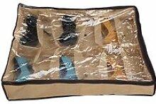 12 paires rangé sous le tissu de lit rangement