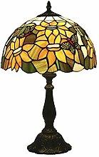 12 Pouces Tiffany Style Lampe de Table Pastorale