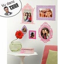 12 stickers cadre photo roommates
