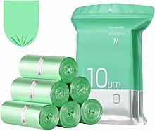 120 Sacs Poubelle,15-20L,Ultra Résistant,