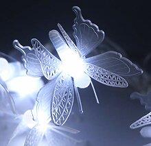 12m 100 LED Extérieure Chaîne De Mariage Solaire