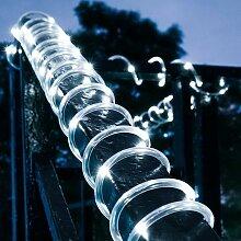 12M Solaire Ruban Lumineux ,100 LED Guirlande