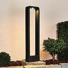 12W Lampe de Jardin 3000K 1100LM Borne lumineuse